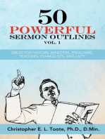 50 POWERFUL SERMON OUTLINES VOL. 1