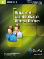 Operaciones administrativas de recursos humanos (GRADO MEDIO)