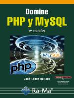 Domine PHP y MySQL. 2ª edición: Gráficos y diseño web