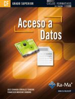 Acceso a Datos (GRADO SUPERIOR)