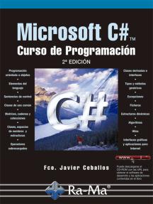 Microsoft C#. Curso de Programación. 2ª Edición