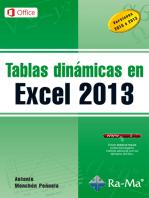 Tablas dinámicas en Excel 2013: Hojas de cálculo