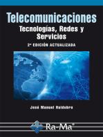 Telecomunicaciones. Tecnologías, Redes y Servicios. 2ª Edición actualizada