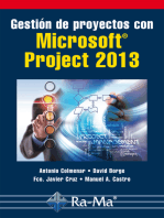 Gestión de Proyectos con Microsoft Project 2013: Software de gestión de proyectos