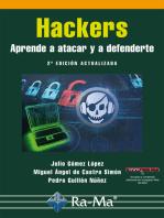 Hackers. Aprende a atacar y defenderte. 2ª Adición Actualizada