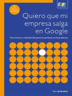 Quiero que mi empresa salga en Google. 3ª Edición actualizada: Comunicación y presentación empresarial