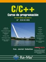 C/C++. Curso de programación. 4ª edición: PROGRAMACIÓN INFORMÁTICA/DESARROLLO DE SOFTWARE