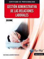Gestión administrativa de las relaciones laborales. (MF0237_3)