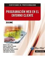Programación web en el Entorno Cliente. (MF0491_3)