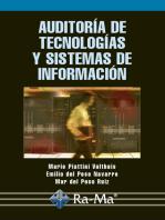 Auditoría de Tecnologías y Sistemas de Información.: SEGURIDAD INFORMÁTICA