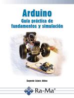 Arduino. Guía práctica de fundamentos y simulación: Robótica