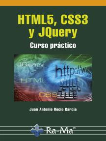 HTML5, CSS3 y JQuery: Gráficos y diseño web