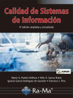 Calidad de Sistemas de Información. 4ª edición ampliada y actualizada: Sistemas incorporados/integrados