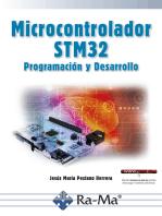 Microcontrolador STM32 Programación y desarrollo: INGENIERÍA ELECTRÓNICA Y DE LAS COMUNICACIONES