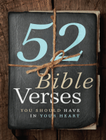 52 Bible Verses You Should Have in Your Heart