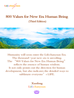 800 Values for New Era Human Being (Third Edition)