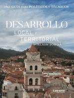 Desarrollo local y territorial: Una guía para políticos y técnicos