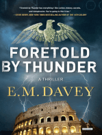 Foretold by Thunder: A Thriller