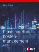 Praxishandbuch Kostenmanagement