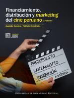 Financiamiento, distribución y marketing del cine peruano