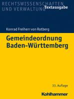 Gemeindeordnung Baden-Württemberg