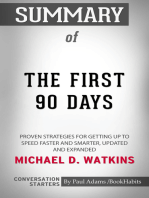 Summary of The First 90 Days, Updated and Expanded