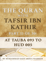 The Quran With Tafsir Ibn Kathir Part 11 of 30