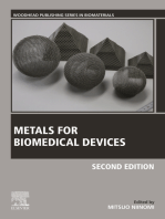 Metals for Biomedical Devices