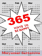 365 Ways to be Happy