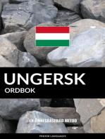 Ungersk ordbok