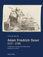 Adam Friedrich Oeser 1717 – 1799