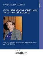 Con ispirazione cristiana nella realtà sociale