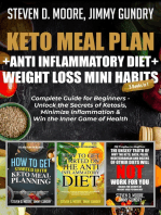 Keto Meal Plan + Anti Inflammatory Diet + Weight Loss Mini Habits