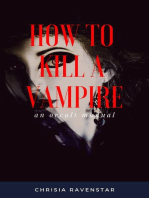 How to Kill a Vampire