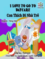 I Love to Go to Daycare (English Vietnamese Bilingual Book)