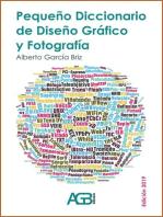 Pequeño Diccionario de Diseño Gráfico y Fotografía (ed. 2019)