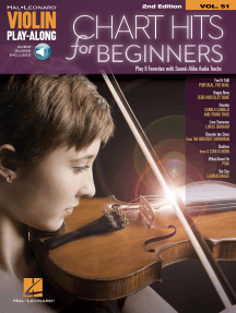 Chart Hits for Beginners: Violin Play-Along Volume 51