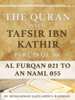 The Quran With Tafsir Ibn Kathir Part 19 of 30