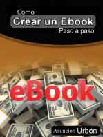 Como crear un eBook. Paso a paso