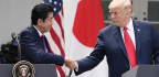Trump Returns To Japan For A Visit Heavy On Sumo And Symbolism