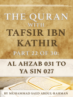 The Quran With Tafsir Ibn Kathir Part 22 of 30