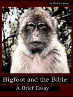 Bigfoot and the Bible