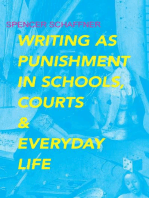 Writing as Punishment in Schools, Courts, and Everyday Life