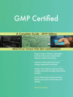GMP Certified A Complete Guide - 2019 Edition