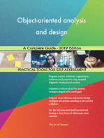 Object-oriented analysis and design A Complete Guide - 2019 Edition