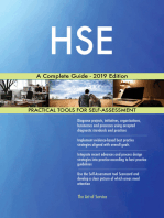HSE A Complete Guide - 2019 Edition
