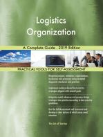 Logistics Organization A Complete Guide - 2019 Edition