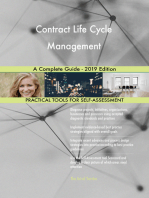 Contract Life Cycle Management A Complete Guide - 2019 Edition