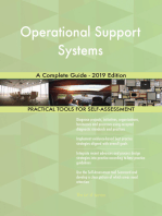 Operational Support Systems A Complete Guide - 2019 Edition