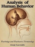 Analysis of Human Behavior